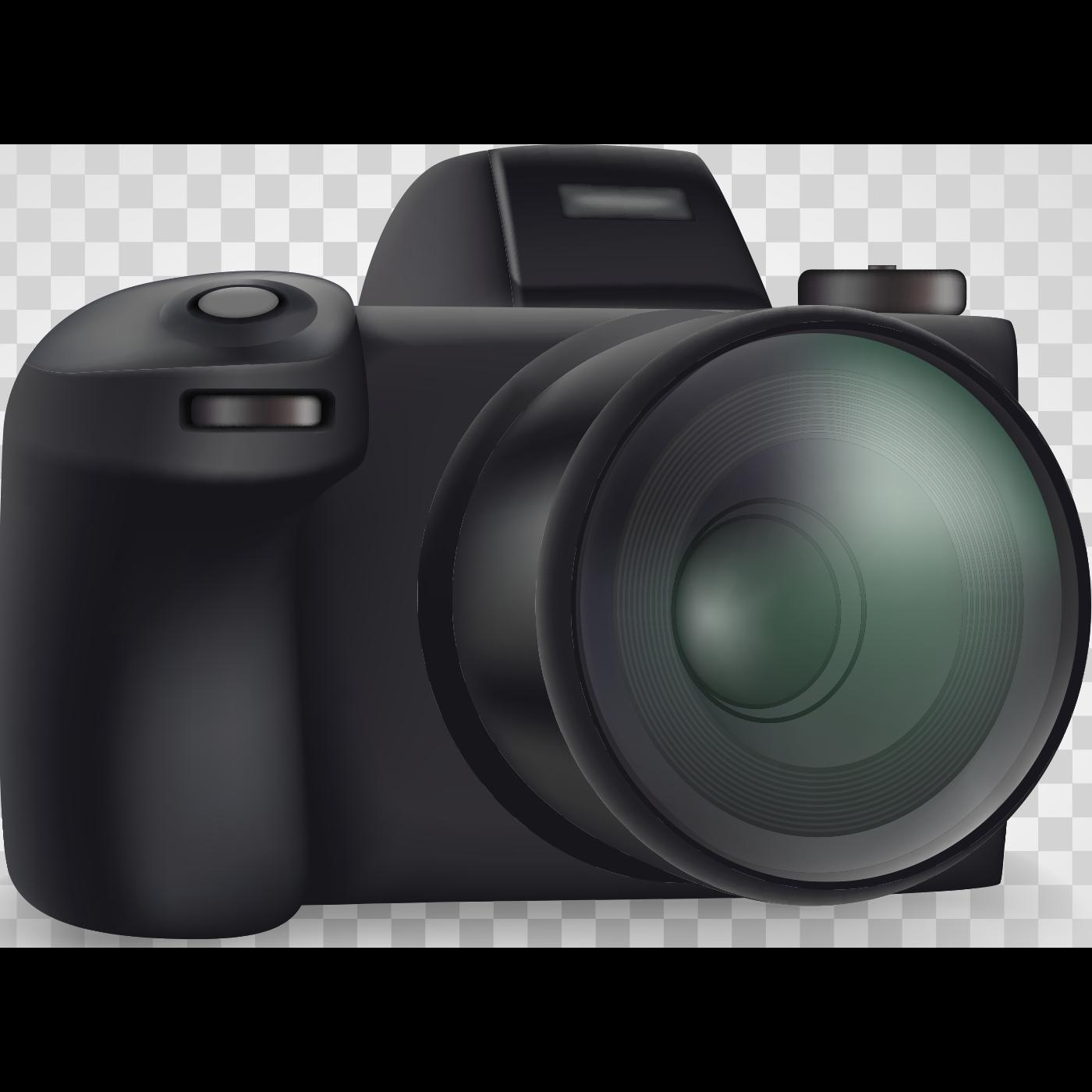DSLR Video Camera Illustration
